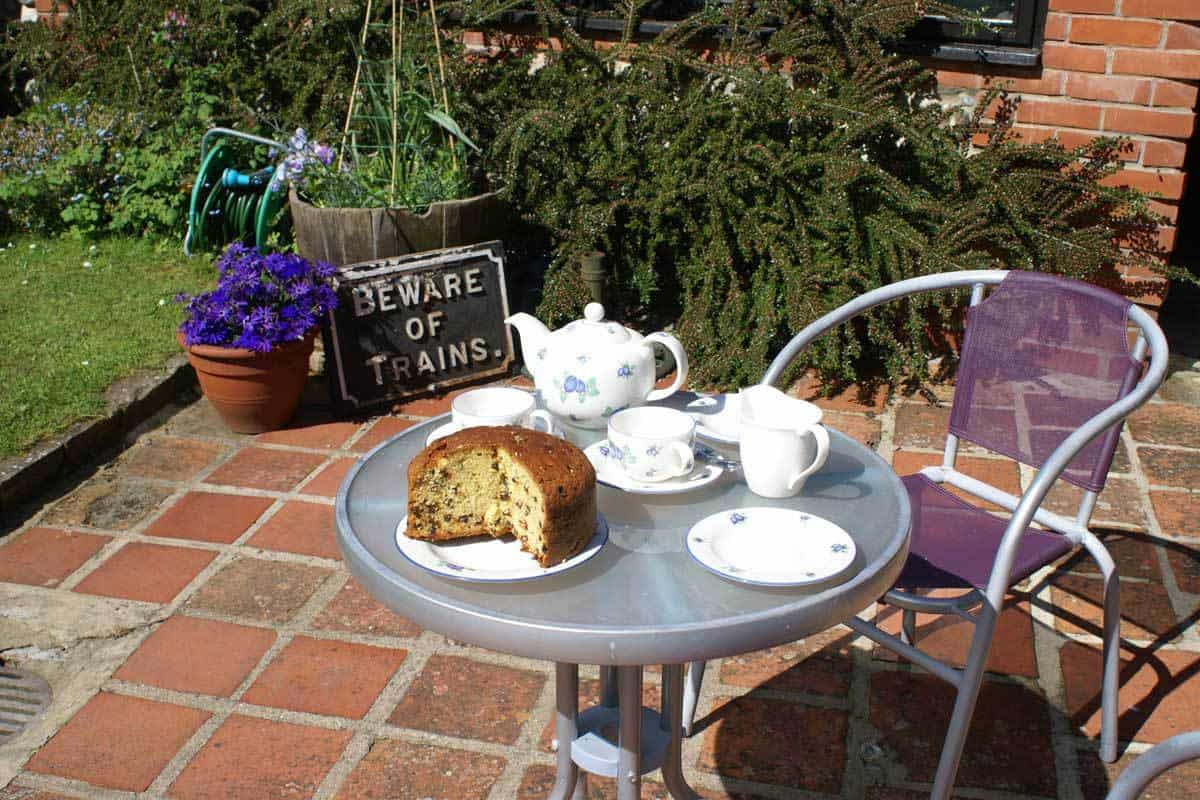 Tea And Cake In The Back Garden