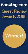 Booking.com Guest Review Winner 2018